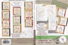 sunbonnet sue in the kitchen anita goodesign embroidery designs