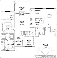 house plan with two master suites new home building and design home building tips