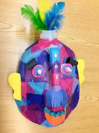 sjs art studio marvelous multicultural milk jug masks