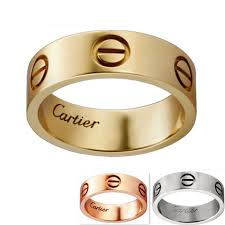 cartier rings gold images Cartier love ring b4084600 b4084700 screw motif cheap replica jpg
