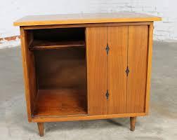 Record Storage Cabinet Sold Walnut Mid Century Modern Record Storage Cabinet