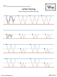 preschool alphabet printable worksheets myteachingstation com