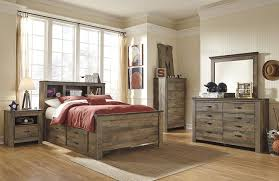 Ashley Furniture Bedroom Nightstands Amazon Com 1 Drawer Nightstand In Brown Finish Kitchen U0026 Dining