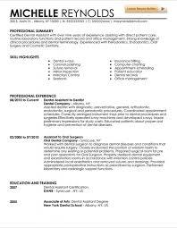 Dental Hygiene Resume Sample by Dental Assistant Resume U2013 Resume Examples