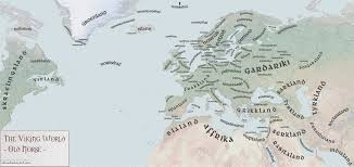 Old World Pictures by Old Norse Map Of The Viking World