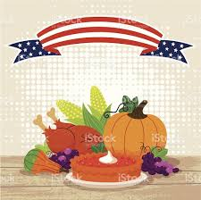 thanksgiving thanksgiving usa photo inspirations stock vector