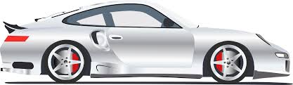 porsche transparent clipart 911