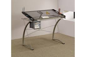 glass drafting table with light modern furniture modern contemporary office furniture expansive