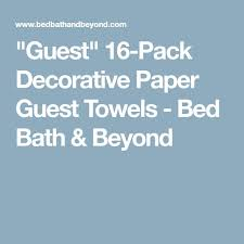 Buy Guest Towel Holder From Bed Bath U0026 Beyond by Best 25 Guest Towels Ideas On Pinterest Bathroom Towels Towels