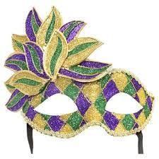 mardi gras and masks 25 glue on mardi gras masks great diy ideas