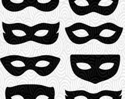 Mask Template by Cricut Template Eye Masks Masquerade Silhouette No
