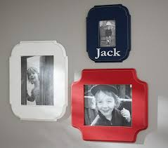 personalized frame pottery barn
