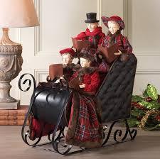 caroler in sleigh raz imports