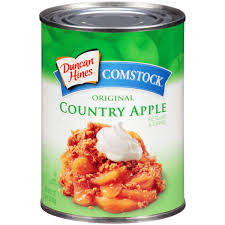 duncan hines comstock original country apple pie filling u0026 topping