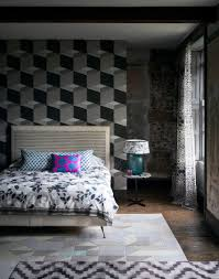 make your bedroom gorgeous with wallpaper room edit