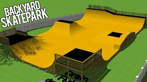 BACKYARD SKATEPARK SURPRISE YouTube - Backyard skatepark designs