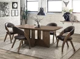 Rustic Modern Dining Room Tables Dining Creative Rustic Modern Dining Set Designs And Ideas Cool
