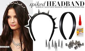 spiked headband diy spiked headband diy ideas craft diy