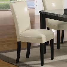 faux leather dining room chairs beige leather dining room chairs alliancemv com