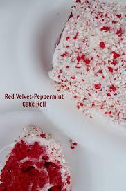 red velvet peppermint cake roll afropolitan mom