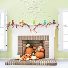 pumpkin fireplace decoration for fall skincare nazelie