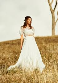 simple and romantic is the grace loves lace noah two piece wedding