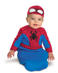 Newborn Boy Halloween Costumes 0 3 Months Born Spiderman Costume Baby Child Costumes Kach Baby