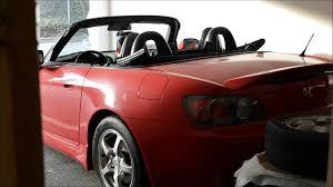 honda s2000 soft top opening closing demo youtube