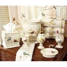 Porcelain Bathroom Accessories Sets Shower Curtains Matching Bath Accessories Bath Decor