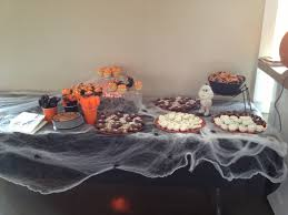 halloween themed birthday halloween themed baby shower spooky dessert table our events
