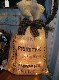 lighted bag treasures by diane pinterest christmas