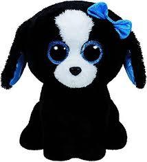 ty beanie boos gabby the 6 ty beanie boo plush tracey the dog 15cm ebay