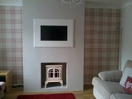 Contemporary Livingroom Our Lovely Contemporary Living Room With Handmade Chimney Breast