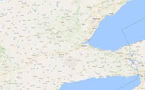 Hamilton Ontario Map Hamilton Toronto Area Process Serving Inc Process Servers In