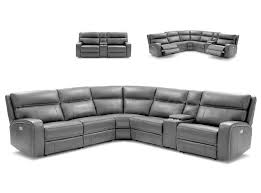 Reclining Sectional Sofa Sectional Sofa Cozy By J U0026m Furniture Gray