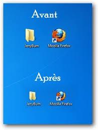 icone bureau windows 7 comment réduire la taille des icônes du bureau et de la barre des