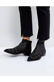 womens boots topshop topshop womens madness studded boots