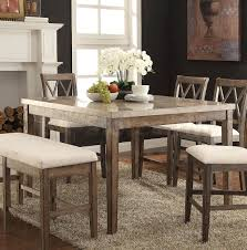 claudia counter height table salvage brown mom and dad