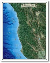 San Jose California Map Coastal California
