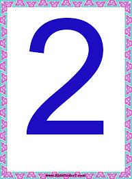 kids under 7 number flash cards numbers 1 10
