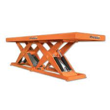 Hydraulic Scissor Lift Table by Presto Lifts Hydraulic Lift Tables