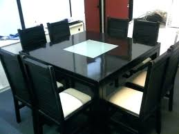 square to round dining table square dining tables for 8 round dining table and 8 chairs awesome 8