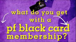 pf black card benefits youtube