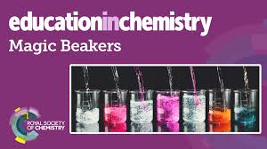 Royal Society Of Chemistry Periodic Table Magic Beakers Chemistry Colour Change Demonstration Youtube