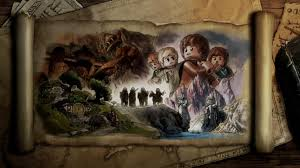 rings the lord of the rings artwork the fellowship of the ring