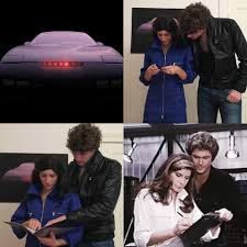retro active critiques knight rider for halloween couple costume