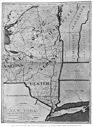Map Of Counties In New York State by New York Map 1775