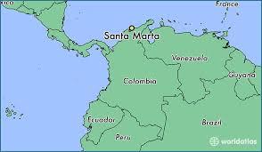 santa map where is santa marta colombia where is santa marta colombia