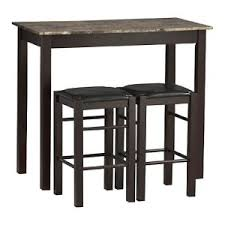 Rectangular Bistro Table Marble Top Bar Pub Tables Hayneedle