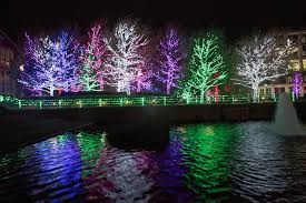 holiday light displays in oklahoma twinkle with christmas spirit